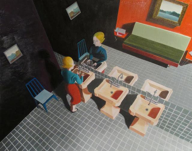 , 'Ladies Room,' 2018, Susan Eley Fine Art