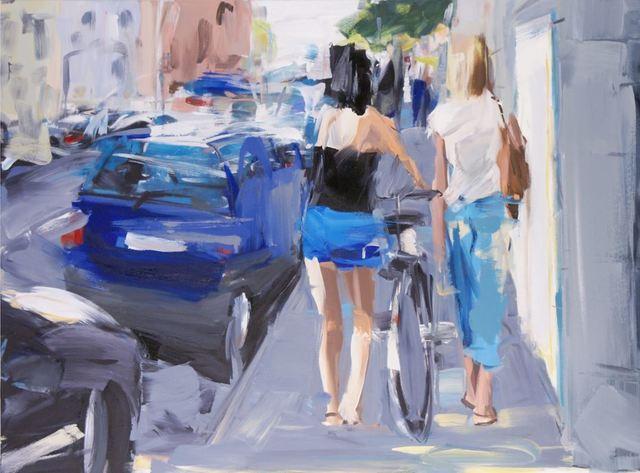 , 'A walk,' 2018, Galerie Barbara von Stechow