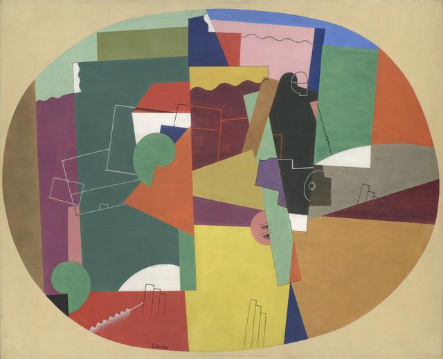 , 'Paysage,' 1920, Galerie Zlotowski