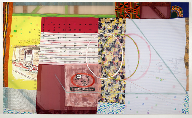 Tameka Norris, '12 Times Table,' 2014, Jane Lombard Gallery