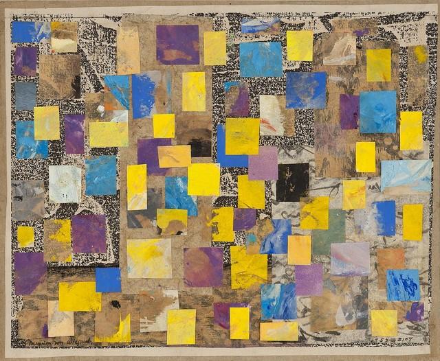 , 'Hall of Golden Bells Collage #107,' 1954, Michael Rosenfeld Gallery