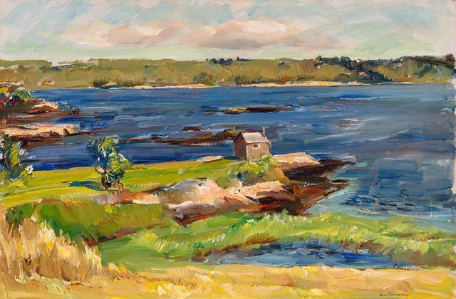 John Fulton Folinsbee, 'Hockamock Bay', circa 1935, Painting, Oil on canvas, Doyle
