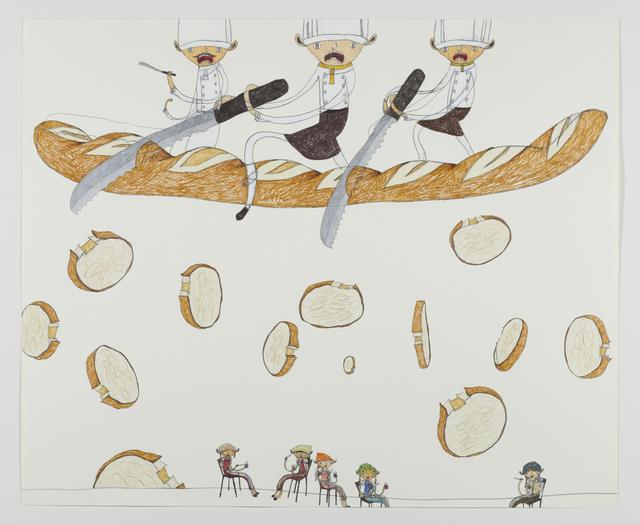 Shintaro Miyake, 'Happiness Might be Falling from the Sky', 2013, Tomio Koyama Gallery