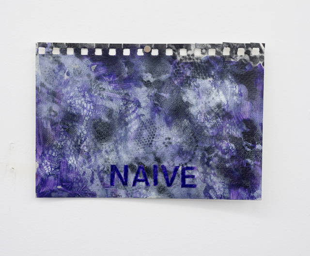 , 'Naive,' 2016, Wil Aballe Art Projects | WAAP
