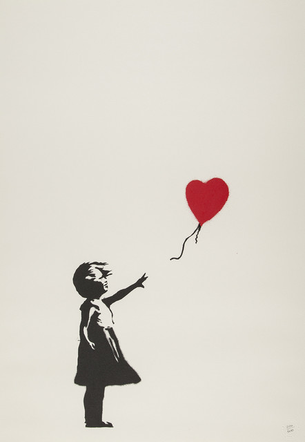 Banksy, 'Girl With Balloon (Unsigned)', 2004, Prescription Art