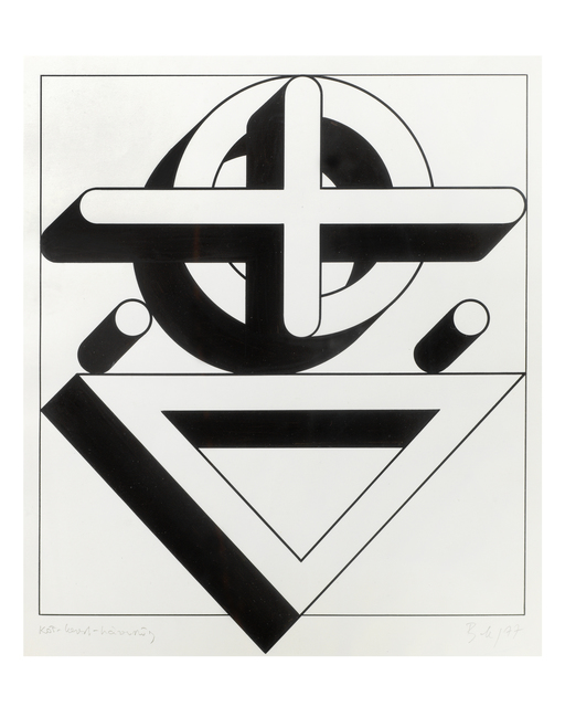 , 'Circle-Cross-Triangle,' 1977, The Mayor Gallery