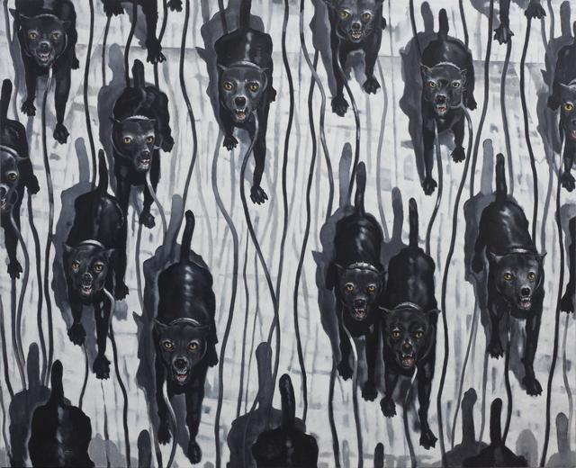, 'La Jauria II,' 2009-2017, Lyle O. Reitzel