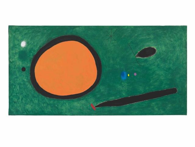 Joan Miró, 'Le Vol d'oiseau par le clair de lune', 1967, Nahmad Contemporary