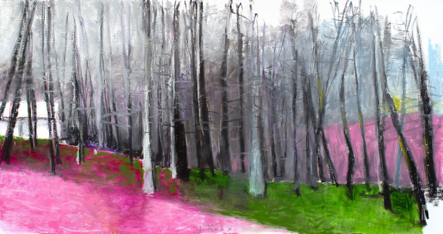, 'PINK, GRAY AND GREEN,' 2015, Jerald Melberg Gallery