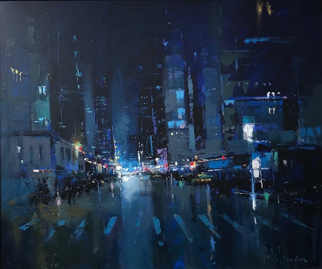 , 'The City That Never Sleeps II,' 2018, Thompson's Galleries