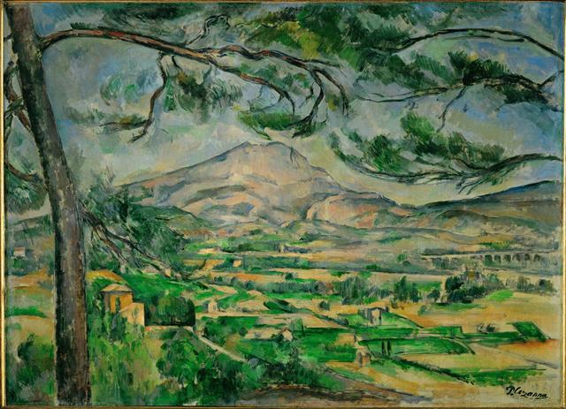 Paul Cézanne, 'Mont Sainte-Victoire,' ca. 1885-87, Art History 101