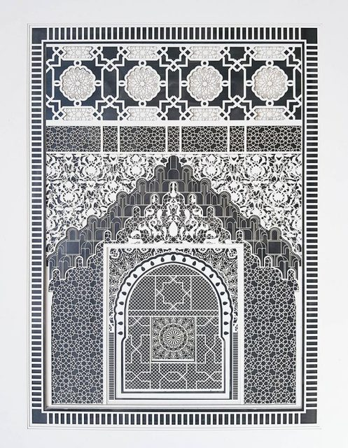 , 'Alhambra Study No. 2,' 2017, Jonathan LeVine Projects