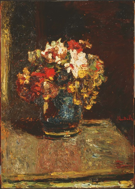 Adolphe Monticelli, 'Bouquet', ca. 1875, Phillips Collection