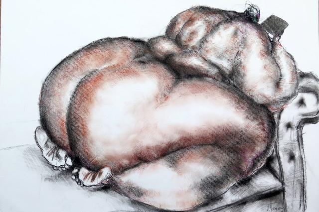 , 'Nude (Ipad),' 2017, Sapar Contemporary