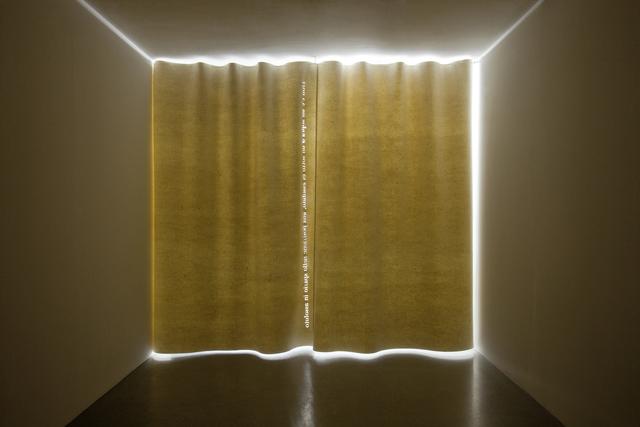 , 'White Curtain,' 2012, Vistamare