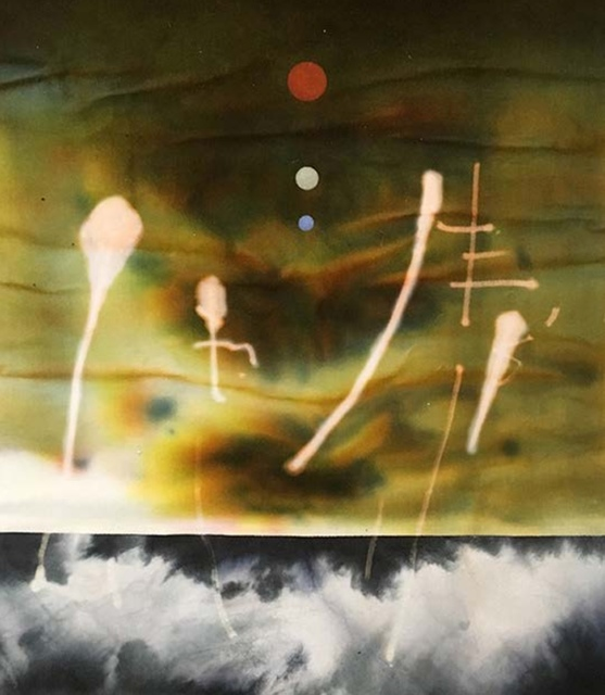 , 'Mars rising,' 2018, Louise Alexander Gallery