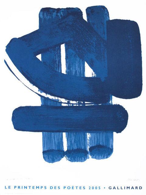 Pierre Soulages, 'Les Printemps des Poetes', 2005, Hidden