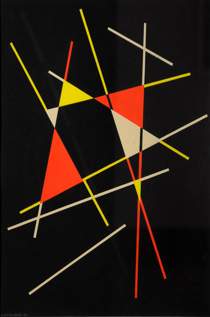 , 'Untitled Composition,' 1954, Cecilia de Torres, Ltd.