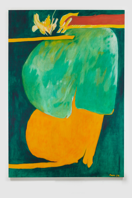 , 'Untitled I (Green Orange),' 1976, Susan Eley Fine Art