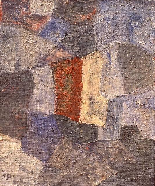 Serge Poliakoff, ' Composition abstraite', 1966, Painting, Oil on canvas, Lorenzelli arte