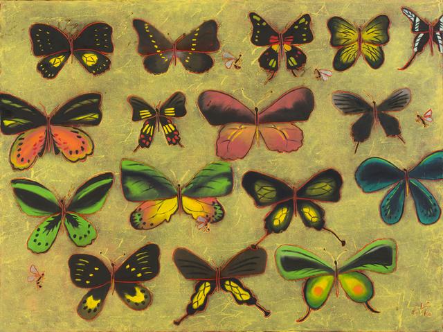 , 'Mouches Papillons,' 2016, Studio 21 Fine Art