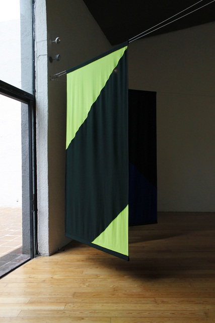 , 'Arriba como ramas que un mismo viento mueve (curtain #4),' 2014, Christinger De Mayo