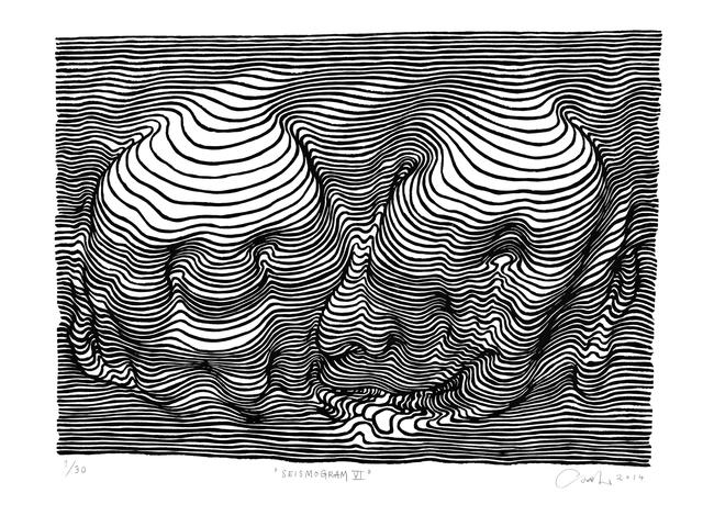 , 'Seismogram VI,' 2014, V1 Gallery