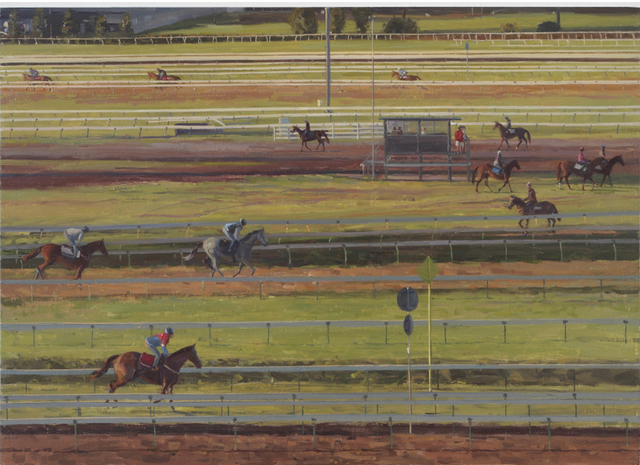 , 'Trackwork at Flemington #2,' 2013, Charles Nodrum Gallery