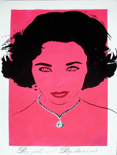 Bambi, 'Liz (Big Girls Need Big Diamonds - Pink)', 2013, Hamilton-Selway Fine Art
