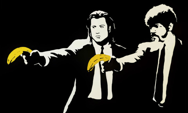Banksy, 'Pulp Fiction', 2004, Taglialatella Galleries