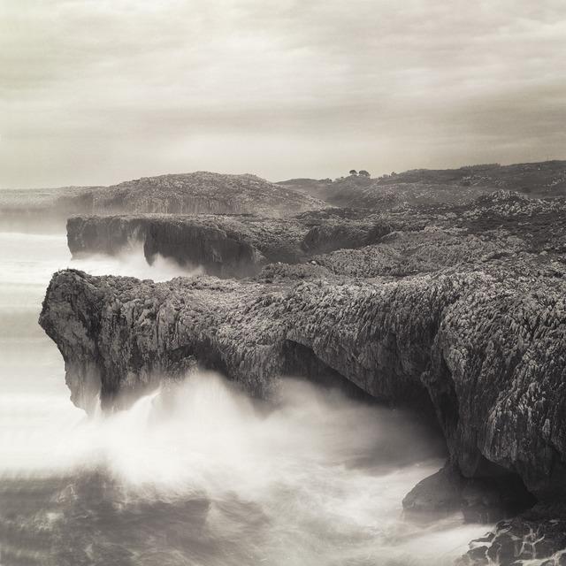 Frank Hallam Day, 'Llanes, Coastline #1', 1988, Photography, Archival pigment print, Addison/Ripley Fine Art