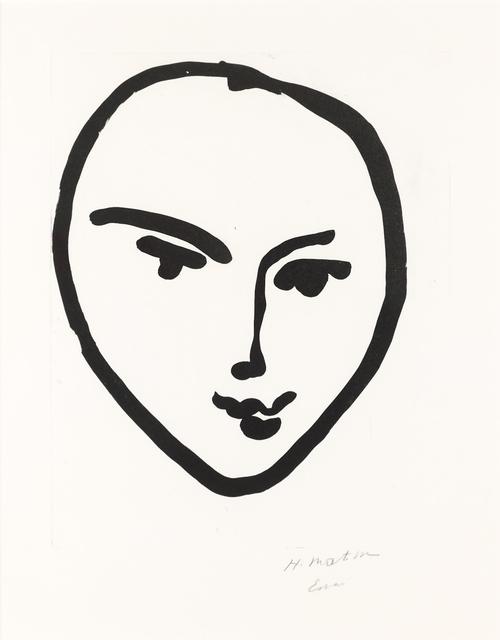 , 'Nadia. Masque souriant,' 1948, Bernard Jacobson Gallery