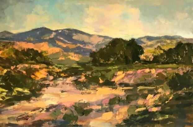 , 'North County Arroyo,' 2018, Pauline Johnson-Brown