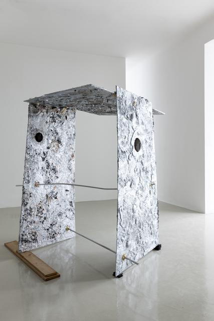 , 'Aluminium, Sand, Pearls, Silikon, Catalytic converter,' 2016, Galerie Kandlhofer