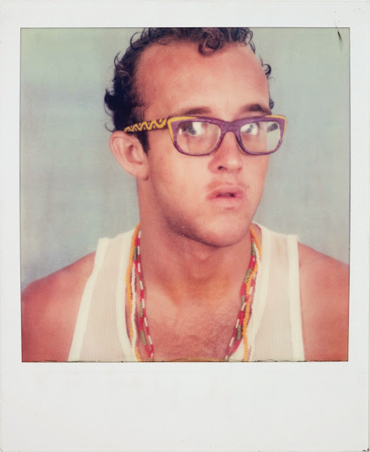, 'Keith Haring, self-portrait,' 1980-1981, de Young Museum