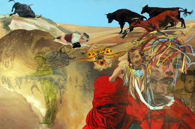 , 'Bull Slipt,' 2013, Robert Berman Gallery