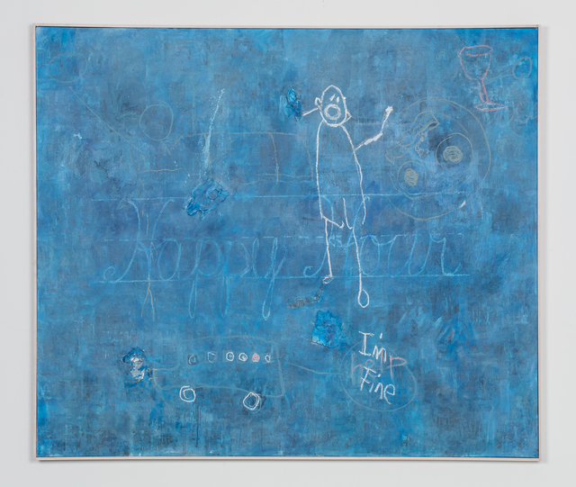 , 'Blue Monster,' 2018, Leila Heller Gallery