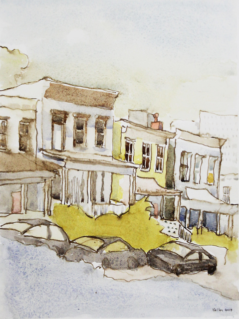 , 'A Row of Houses in Richmond,' 2017, LeMieux Galleries