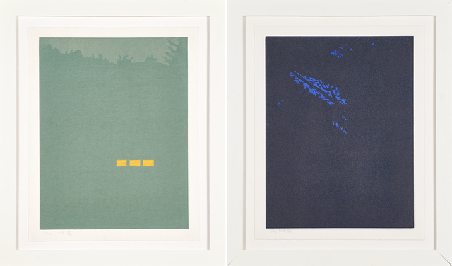 Alex Katz, 'Fog and Night from the Northern Landscapes series', 1994, Rago/Wright