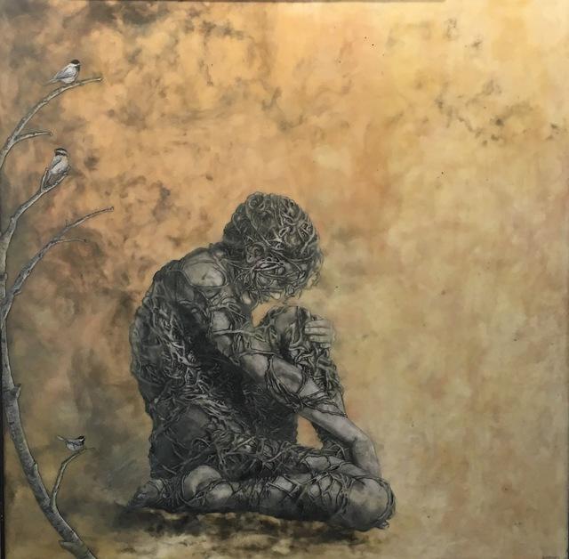 , 'Entanglement of Sun and Moon No. 1,' 2015, J. Pepin Art Gallery