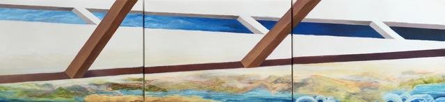 , 'Yesterday's Hurdles in Todays World,' 2015, Joshua Tree Art Gallery