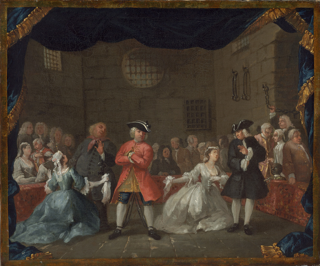 William hogarth a scene from the beggar 39 s opera 1728 for William hogarth was noted for painting