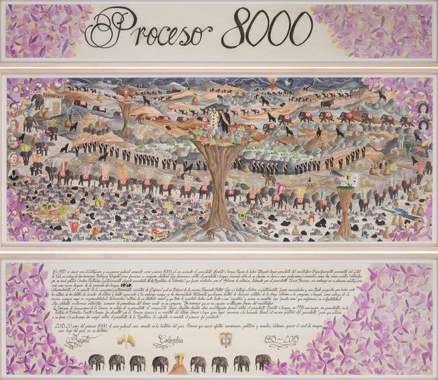 , 'Proceso 8000,' 2015, Galería de la Oficina