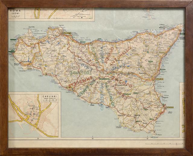 , 'Sicilia,' 1975, Dep Art