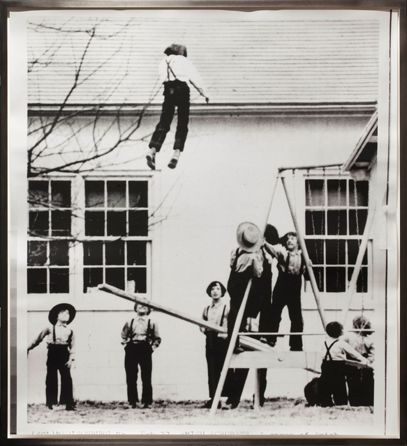 , 'Pour commander à l'air, Amish Acrobats  ,' 2014, Monica De Cardenas