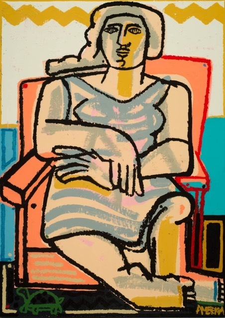 , 'Woman and Sea Turtle,' 2015, Joanne Artman Gallery