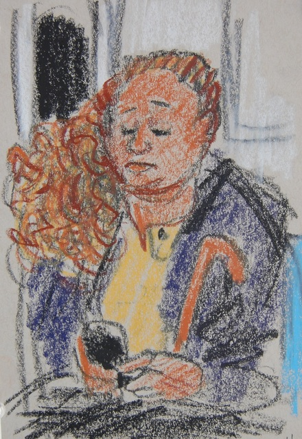 , 'Big Hair, Phone, Umbrella Handle,' 2016, Ground Floor Gallery