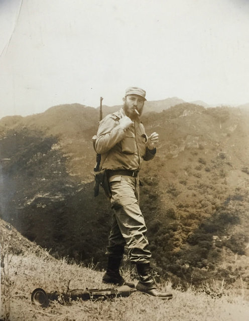 , 'Fidel Castro in the Mountains (Candid Photo),' ca. 1960, Rebekah Jacob Gallery