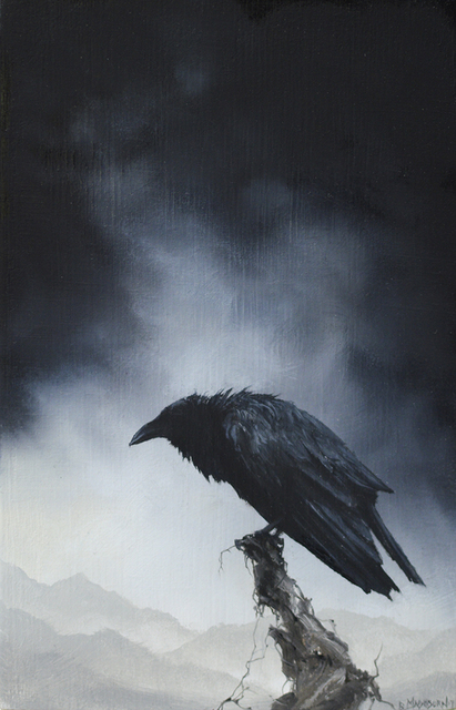 , 'Crow I,' 2017, Haven Gallery