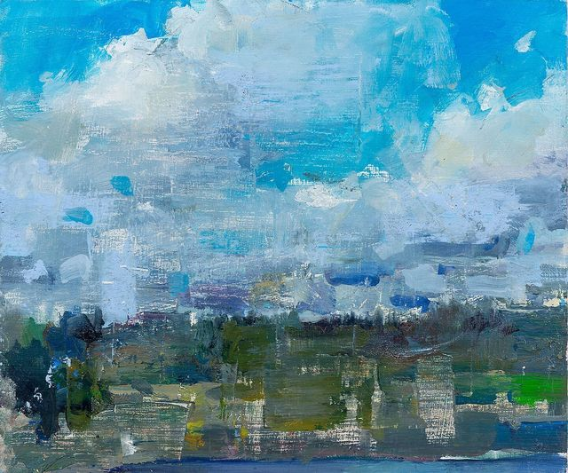 , 'Clouds at Coupeville Ferry,' 2019, Abend Gallery